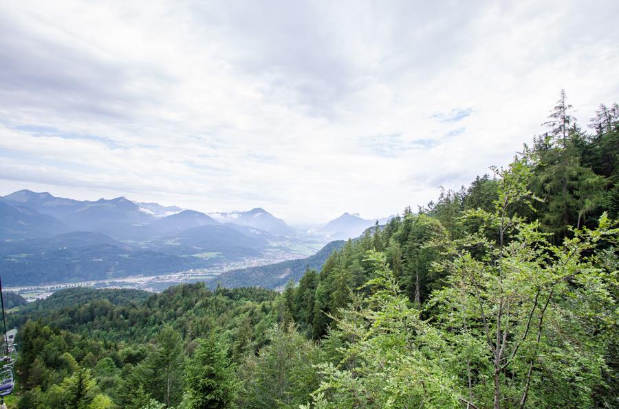 Kaiserlift Sicht Kufsteinerland