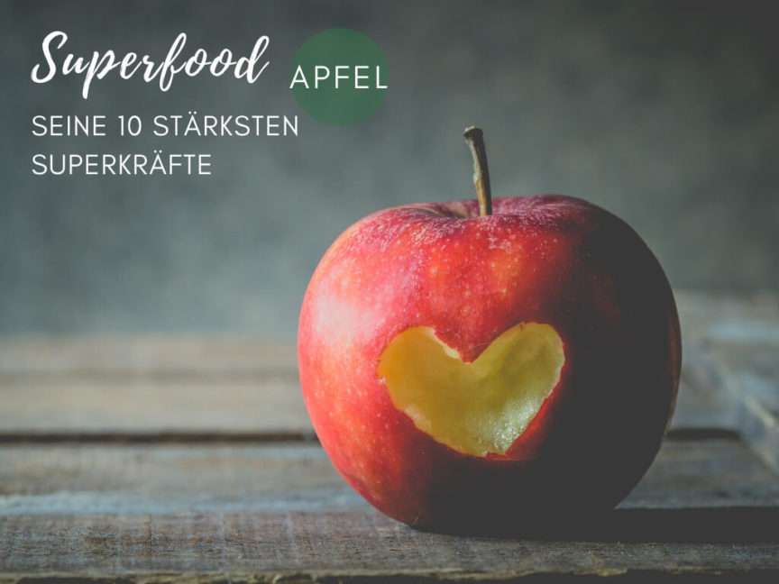 Superfood Apfel